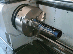Bat Shaving CNC Lathe
